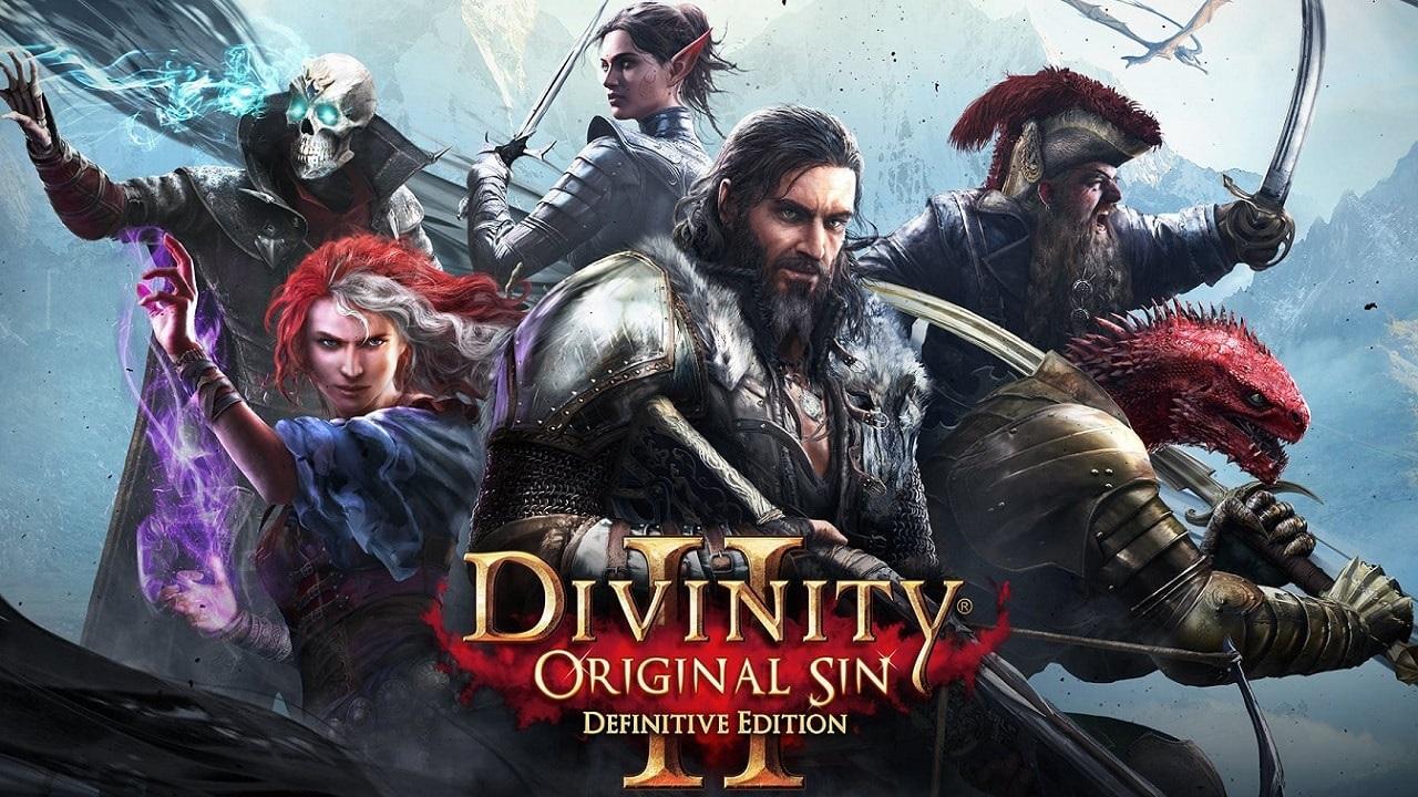 Divinity: Original Sin 2;  key art