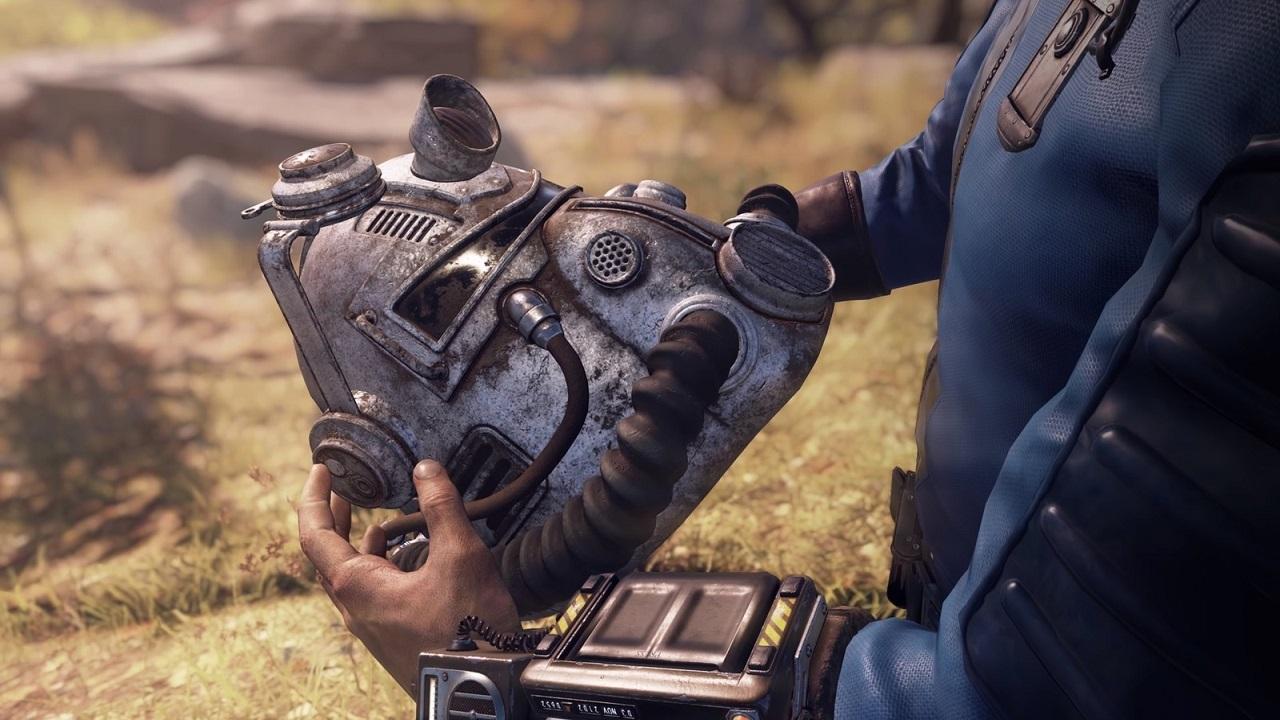 Fallout 76; screenshot, helma