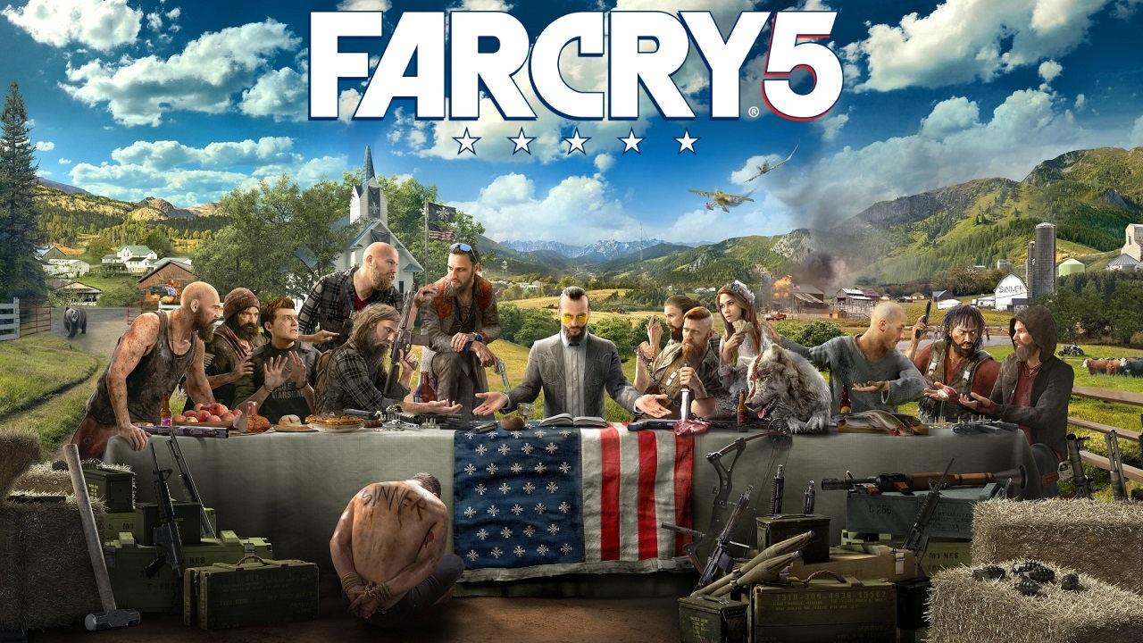 Far Cry 5; key art