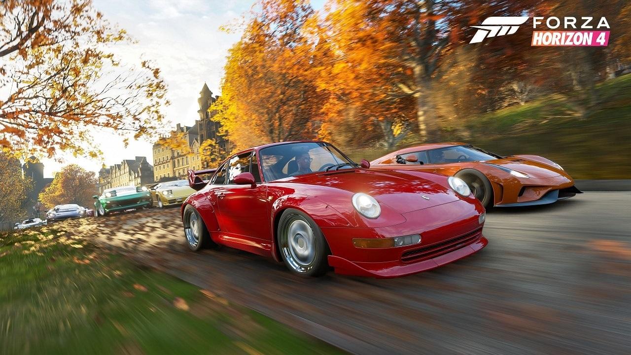 Forza Horizon 4; screenshot