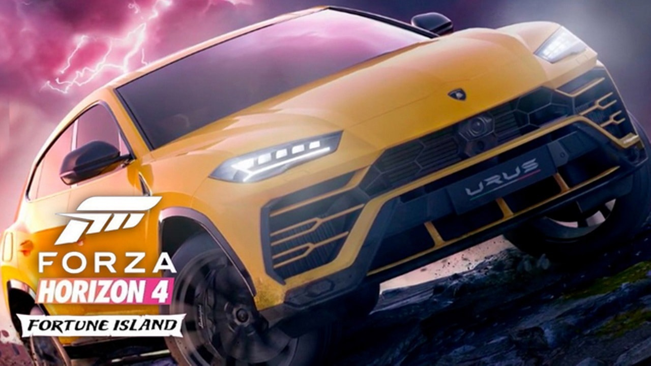 Forza Horizon 4: Fortune Island; key art