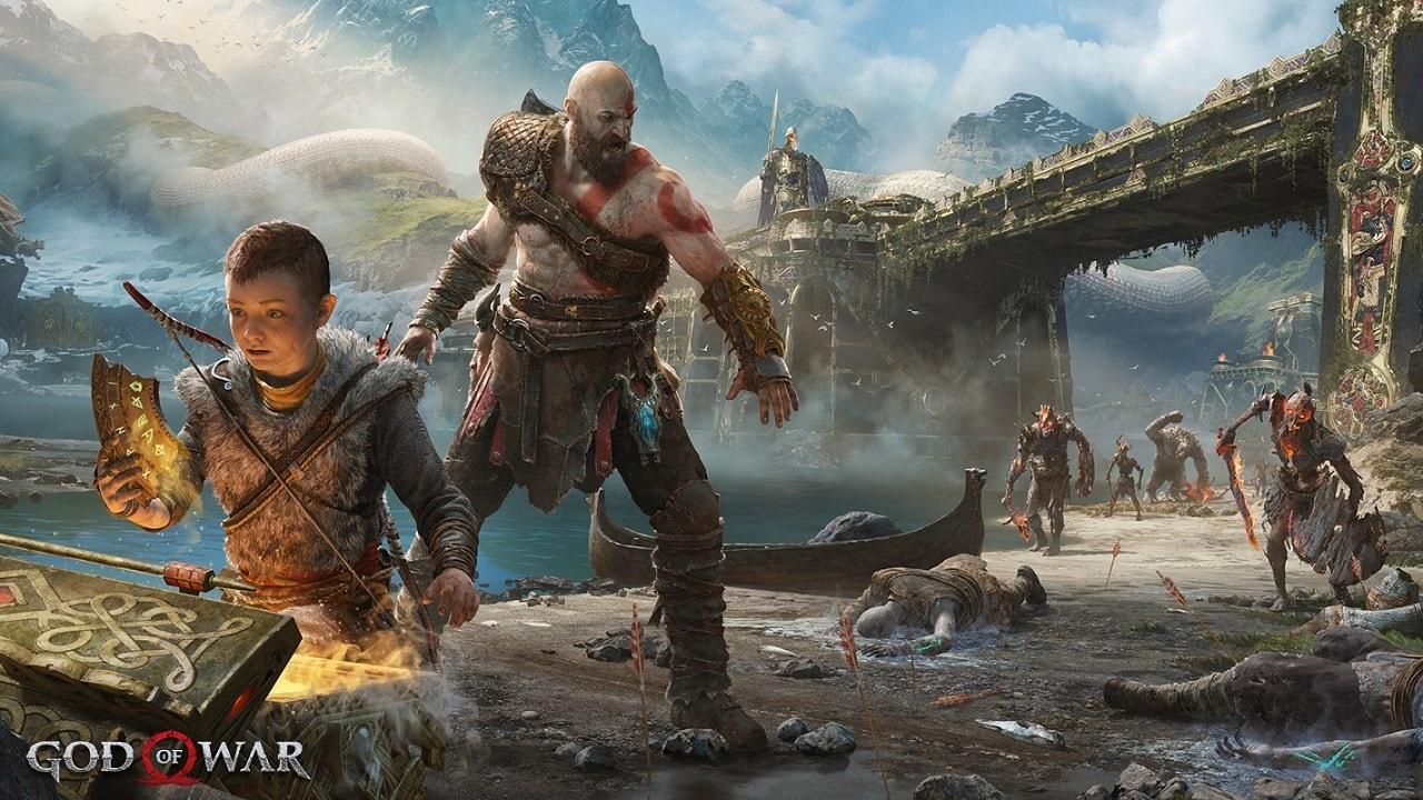 God of War; artwork: Kratos Atreus