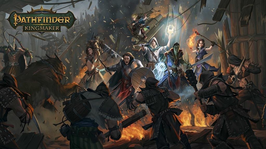 Pathfinder: Kingmaker; key art