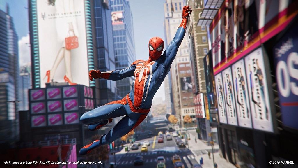 Nejlepší hry Q3 2018; Spider-Man