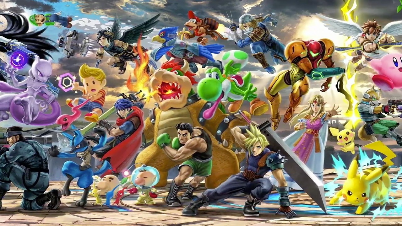 Super Smash Bros. Ultimate; screenshot