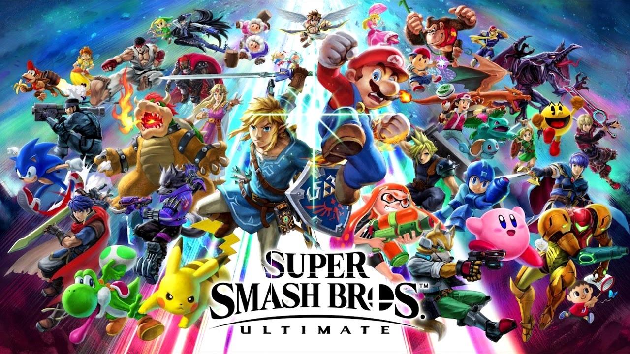 Super Smash Bros. Ultimate; key art
