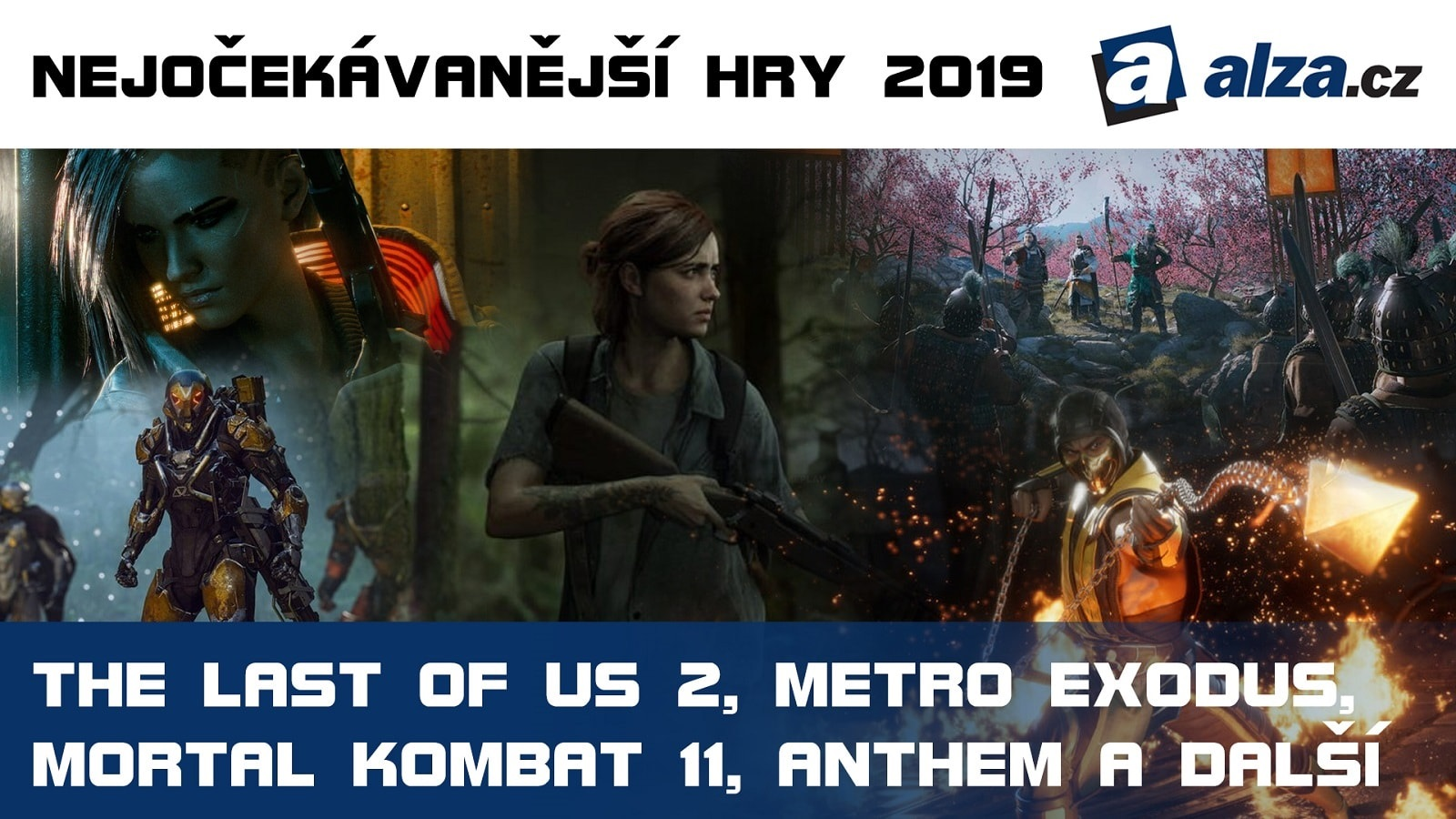Nejočekávanější hry roku 2019: Cyberpunk 2077, The Last of Us Part 2, Metro Exodus