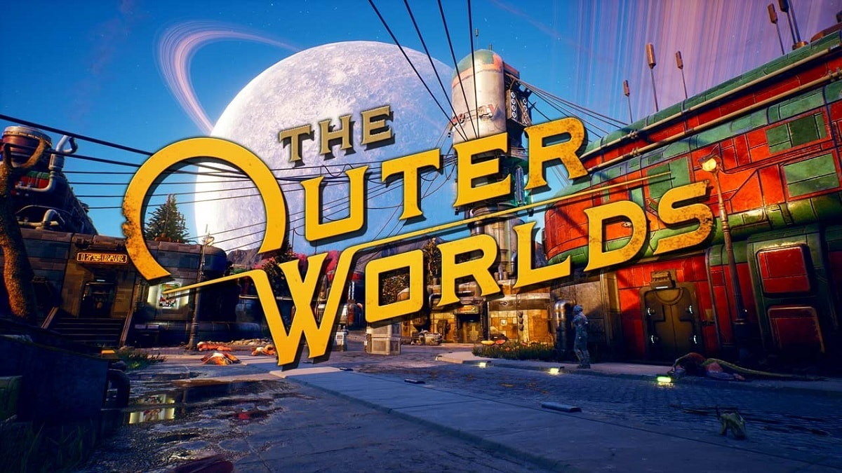Outer Worlds; screenshot: logo