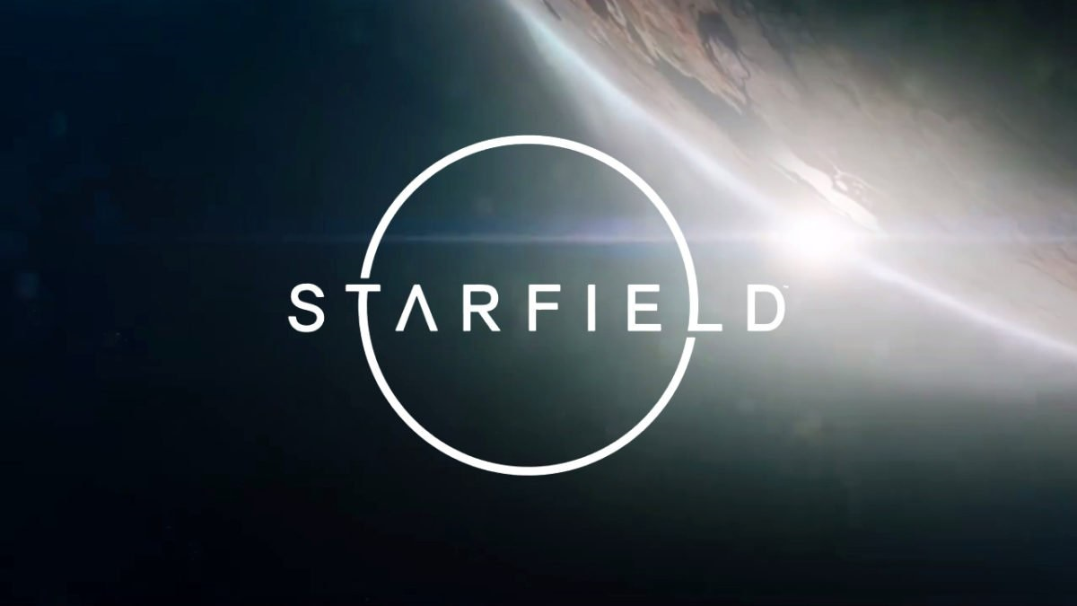 Starfield; screenshot: logo