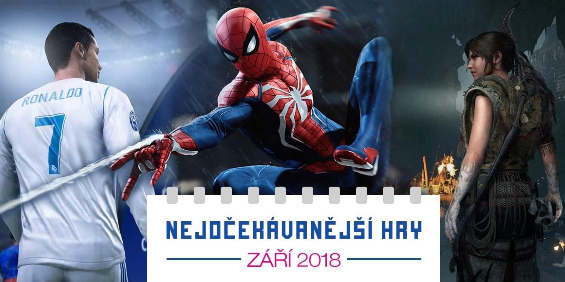 Nejočekávanější hry: září 2018; Marvel's Spider-Man