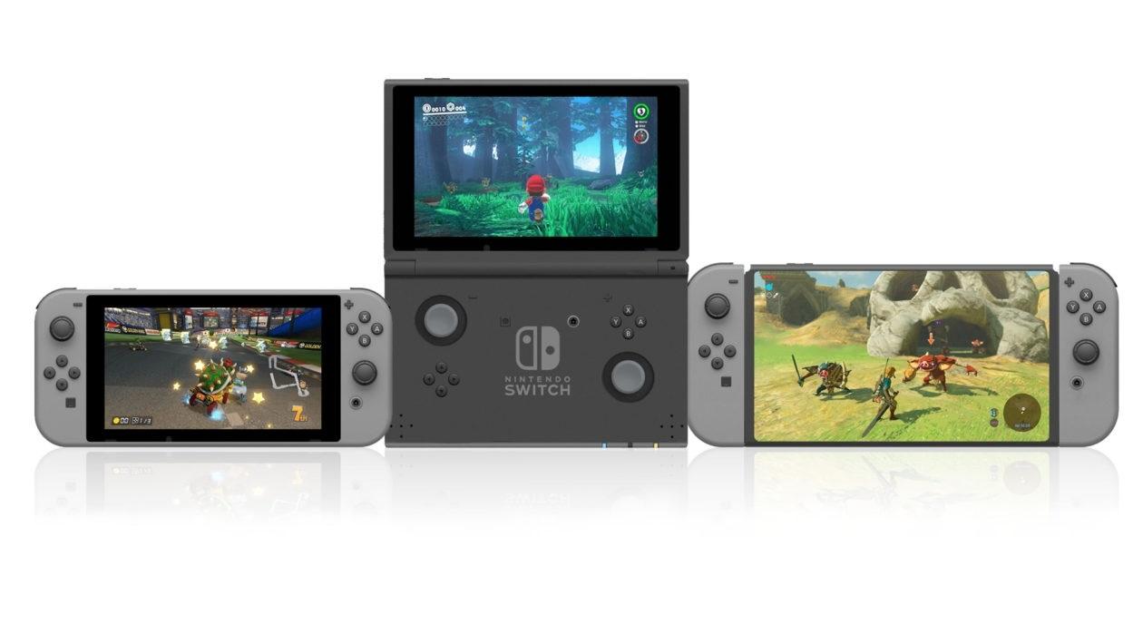 Nintendo Switch; screenshot: koncept DS