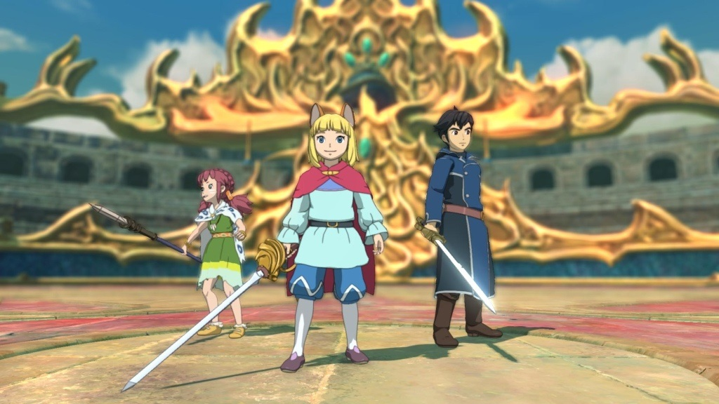 Ni no Kuni 2: Revenant Kingdom; Wallpaper: hrdinové