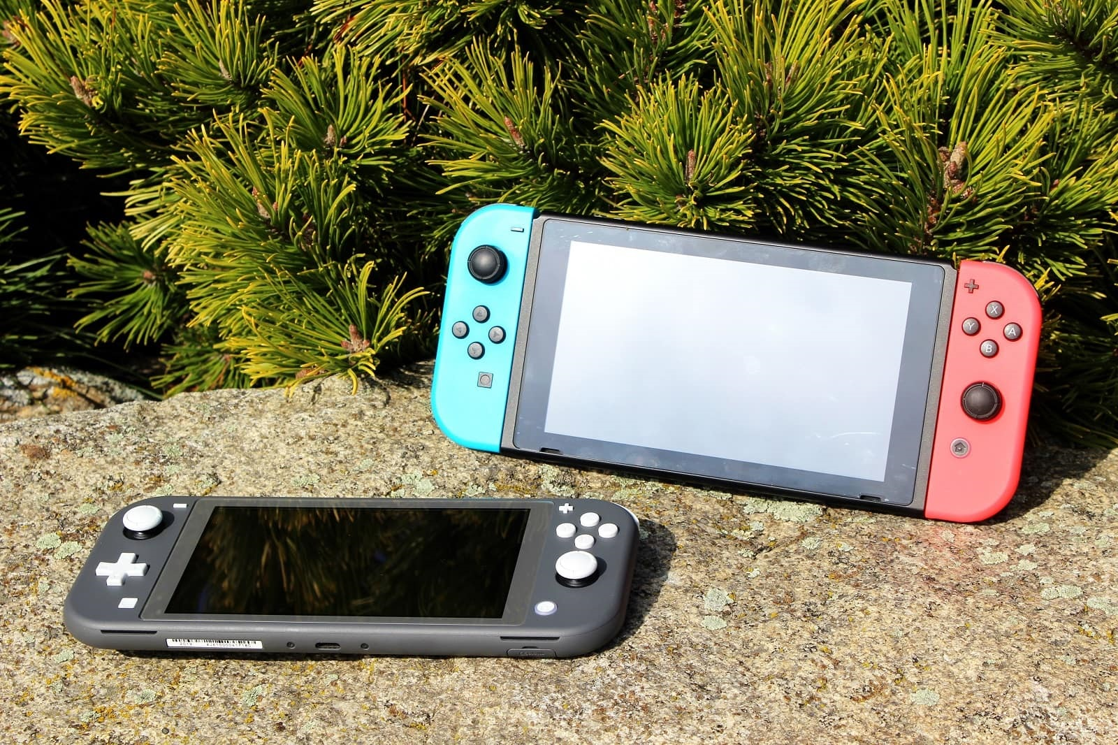 Switch Lite; screenshot: srovnani