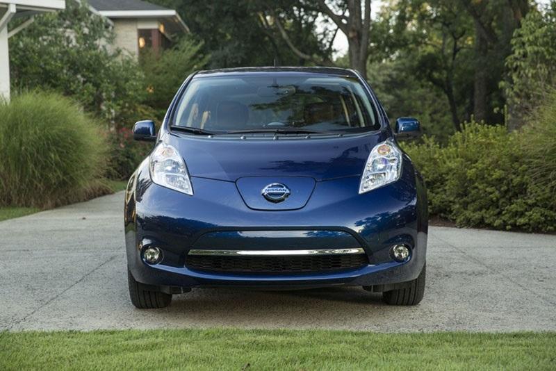 Nissan Leaf, čelní pohled
