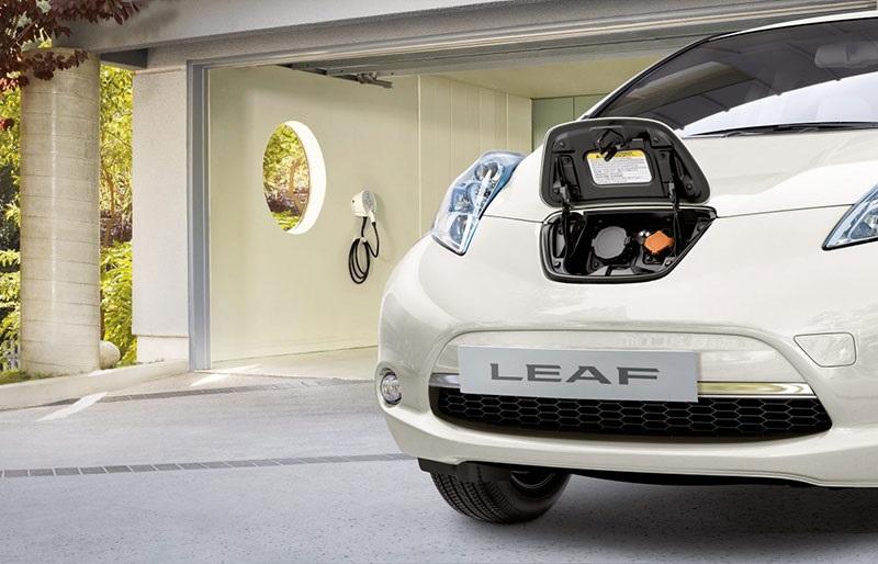 Nissan Leaf, nabíjení