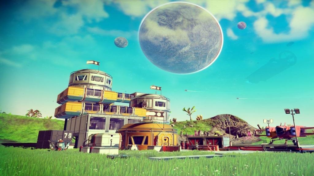 Nejočekávanější hry v červenci a srpnu 2018; No Man's Sky NEXT, screenshot: základna