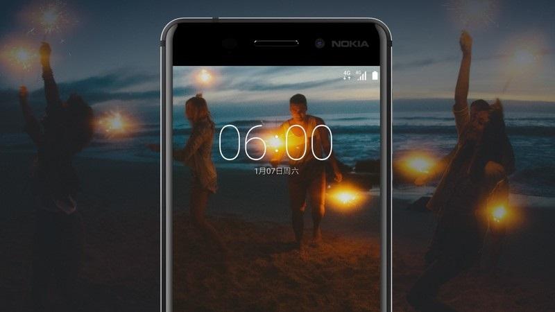 Nokia 6 - selfie