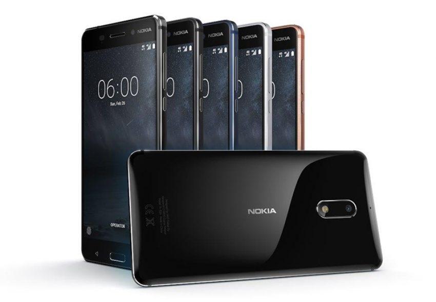 Nokia 6 - čistý design