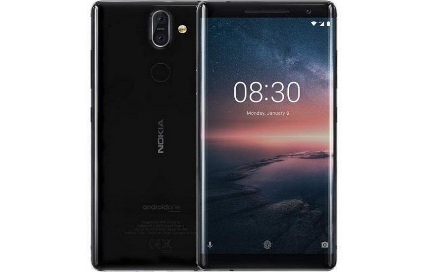 Nokia 8 Sirocco, černá