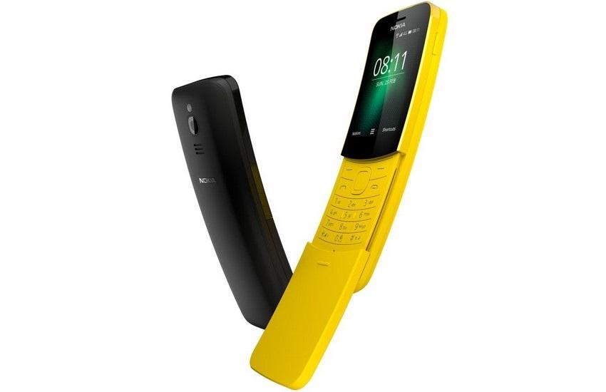 Nokia 8110, černá a žlutá