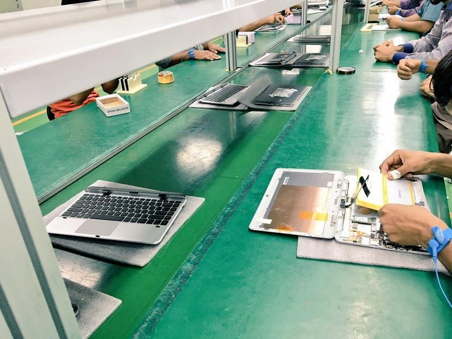 Notebook - výroba v Číně