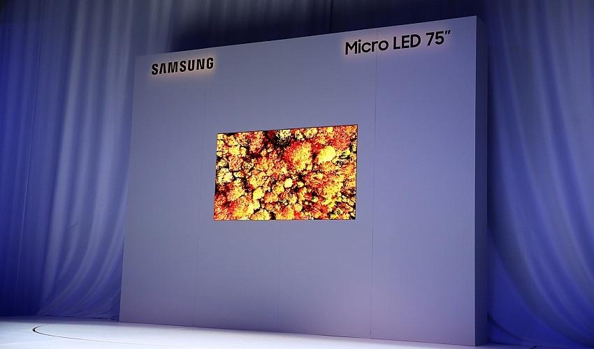 Nové TV 2019 - Samsung MicroLED