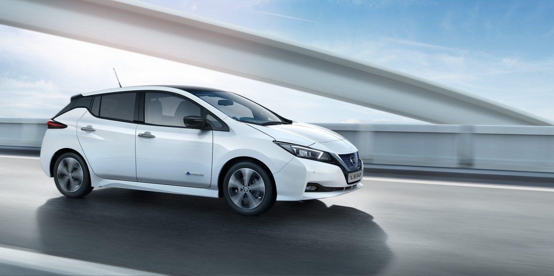 Nový Nissan Leaf, čelní pohled