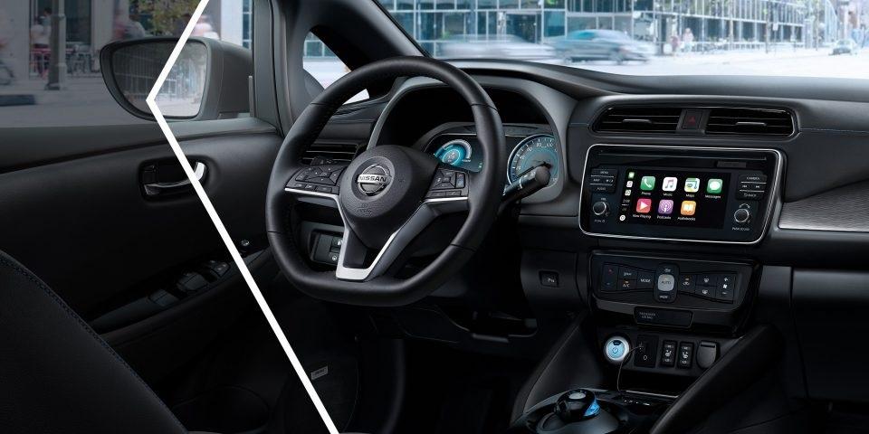 Nový Nissan Leaf, interiér