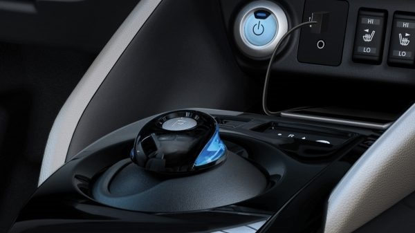 Nový Nissan Leaf, volič jízdních režimů