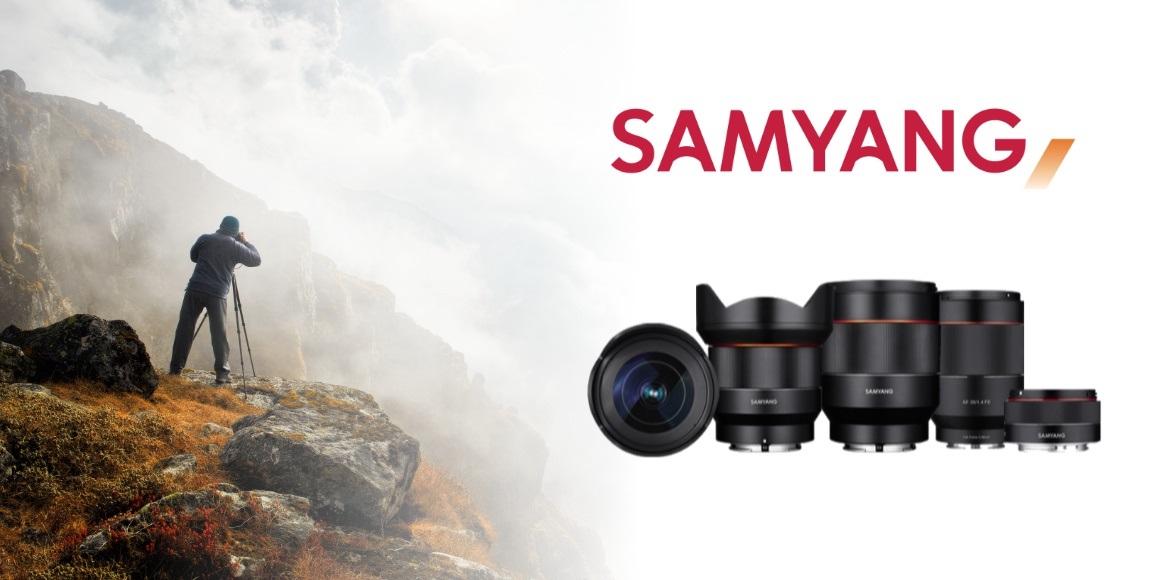 Nové objektivy Samyang