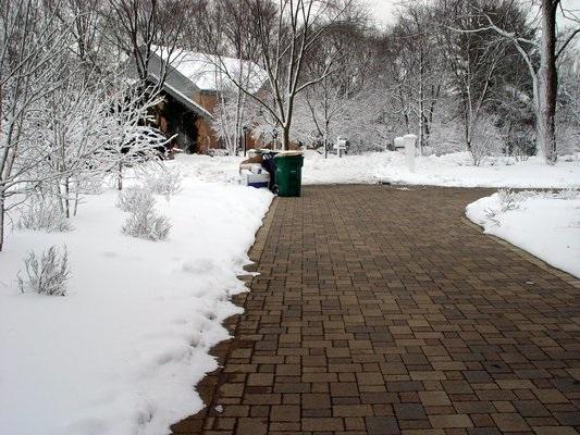 Odklizený sníh