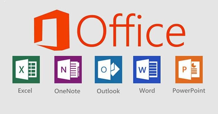 Office 365, aplikace