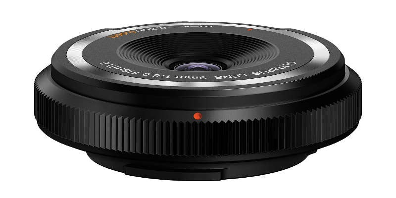 Olympus Body Cap Lens 9mm f/8 Fisheye (RECENZE)