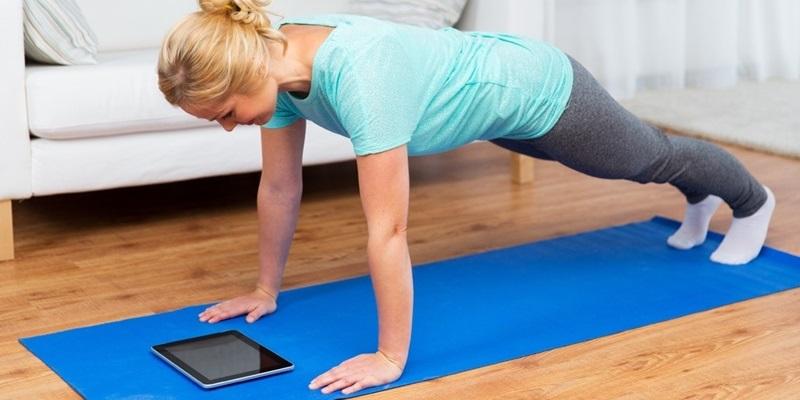 Cvičme online s Online Fitness