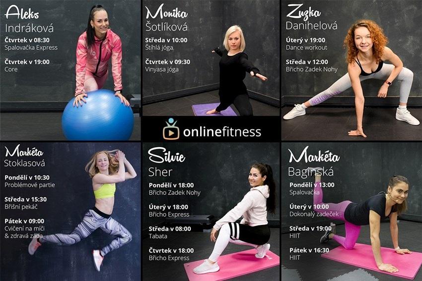Online Fitness trenéři