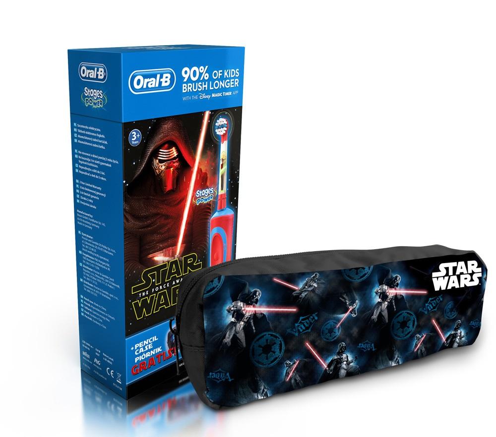 Elektrický zubní kartáček pro děti na motivy Star Wars