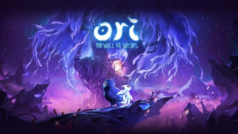 Ori and the Will of the Wisps; screenshot: cover, logo