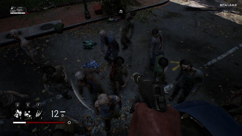 OVERKILL's The Walking Dead; gameplay: dav