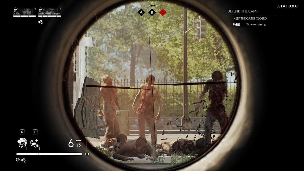OVERKILL's The Walking Dead; gameplay: lov
