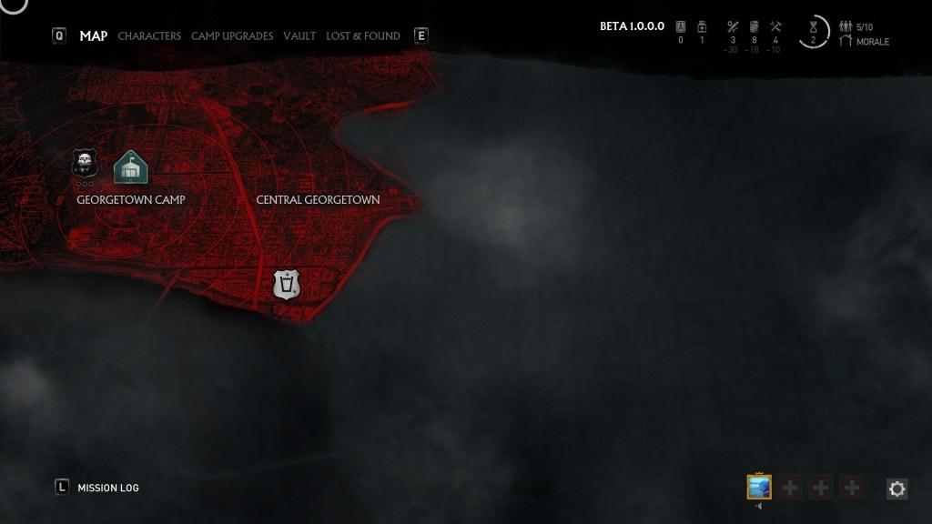 OVERKILL's The Walking Dead; gameplay: město