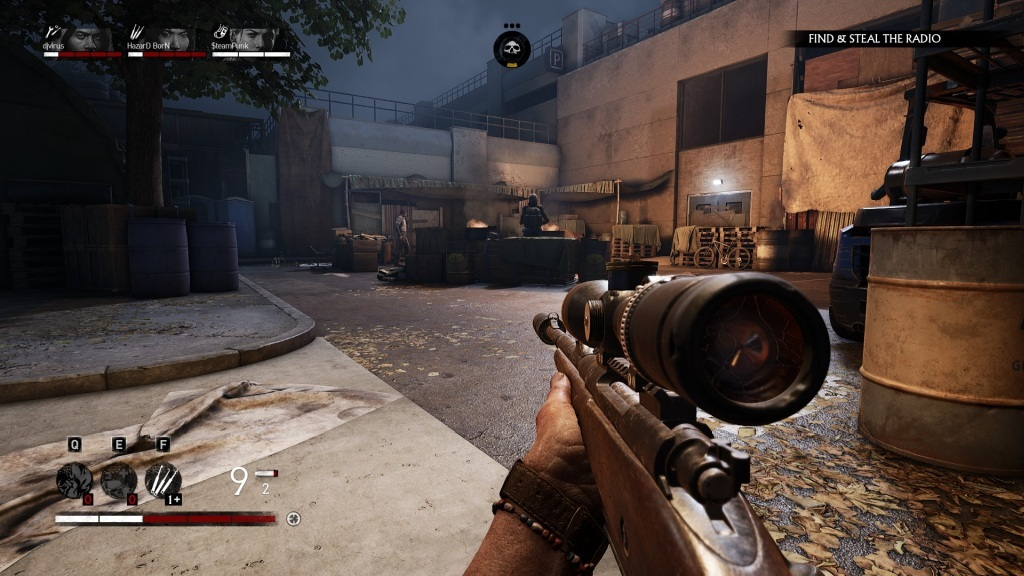 Overkill's The Walking Dead; gameplay: přepad