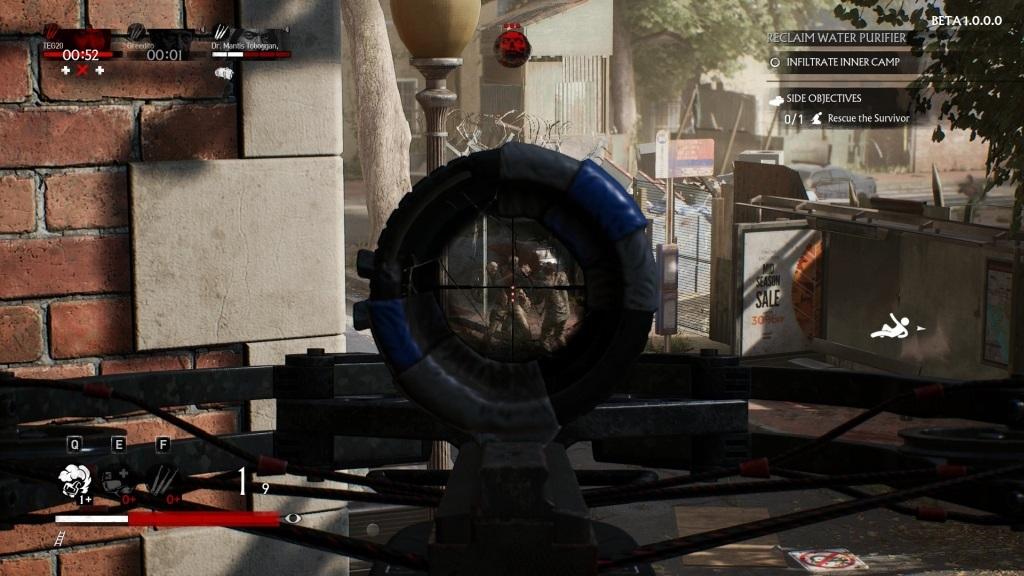 OVERKILL's The Walking Dead; gameplay: přeživší