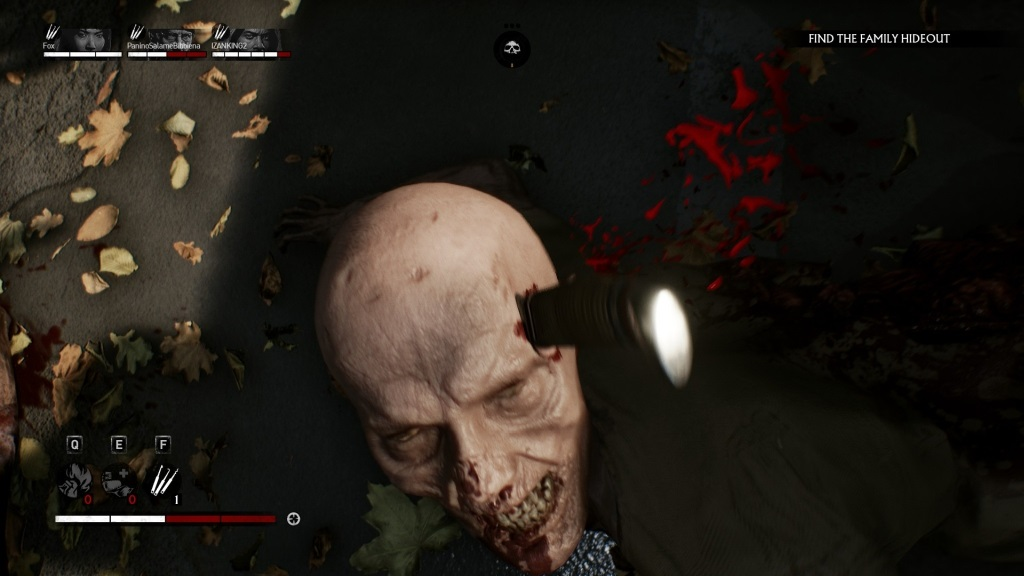 Overkill's The Walking Dead; gameplay: tichá eliminace
