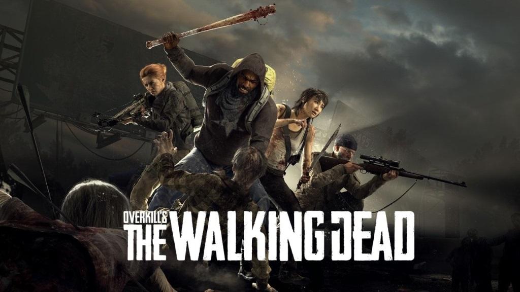 Overkill's The Walking Dead; screenshot: logo