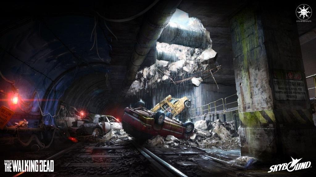 OVERKILL's The Walking Dead; wallpaper: tunel
