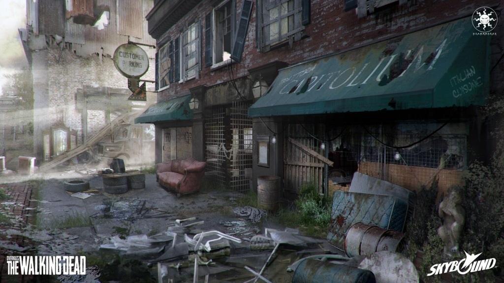 OVERKILL's The Walking Dead; wallpaper: ulice