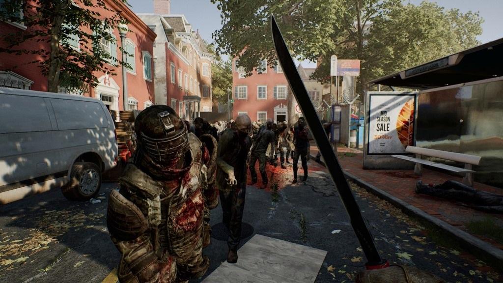 OVERKILL's The Walking Dead; screenshot: kontakt