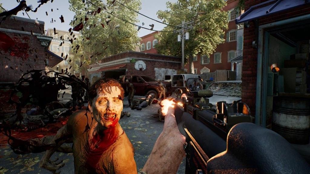OVERKILL's The Walking Dead; screenshot: masakr