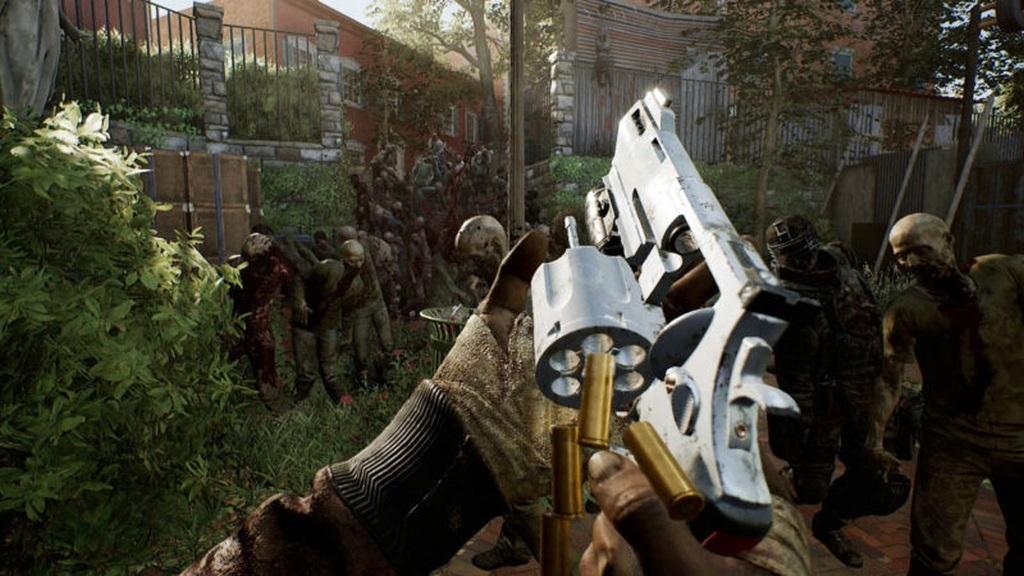 OVERKILL's The Walking Dead; screenshot: nabíjení