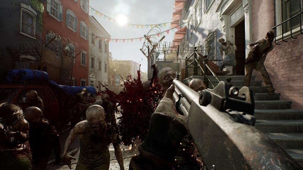 OVERKILL's The Walking Dead; screenshot: přesila